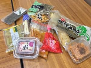 よく見るようなこれらの商品。どれも輸入食材が使用されています。
